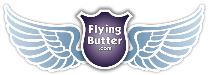 Logo Flying- butter