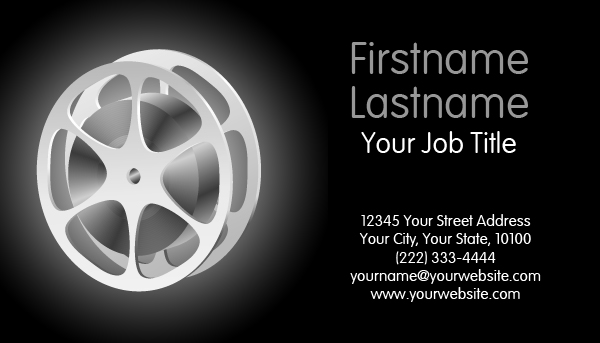 Cinema Business Card