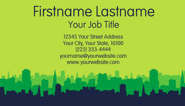 City Landscape Business Card