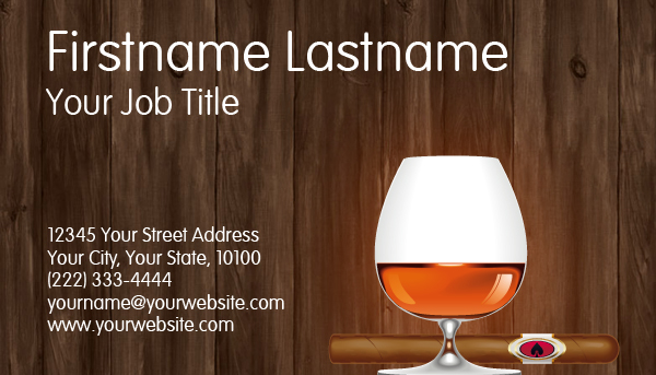 Cognac Business Card