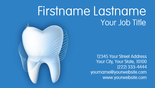 Dentist Business Card