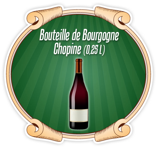 Bouteille Bourgogne Chopine