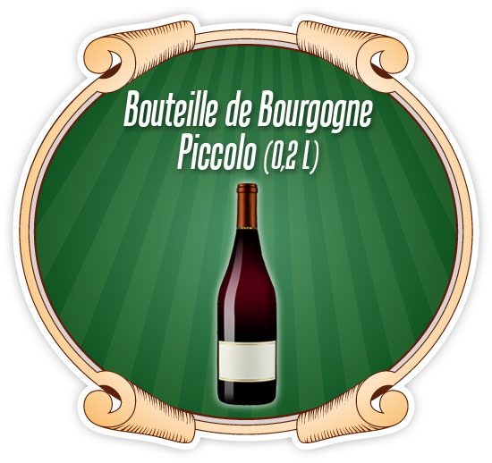 Bouteille Bourgogne Piccolo