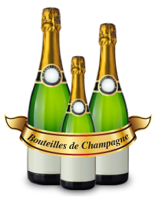 Bouteilles Champagne