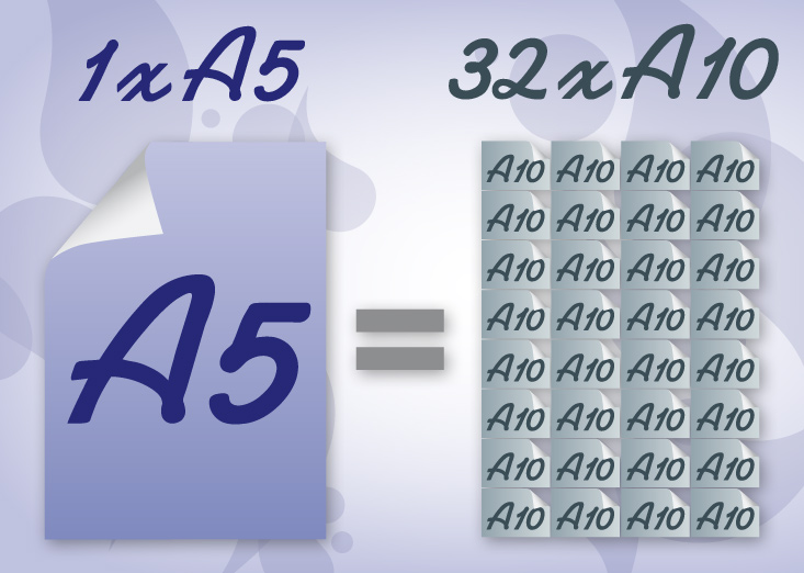 Difference A5 A10
